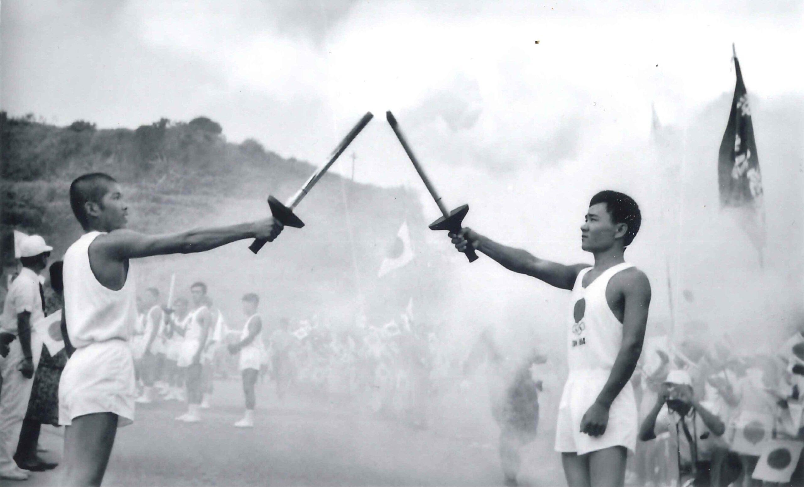 1964年 聖火リレーの写真を公開しました。